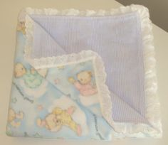 Hand made, two sided large baby blankets Sweet dreams, babies!