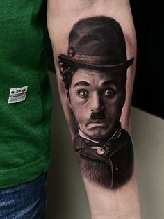 charlie chaplin tattoo i love it charlie chaplin in 2018 pinterest tattoos ink and. Black Bedroom Furniture Sets. Home Design Ideas