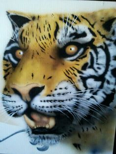 Ilja van Reede,airbrush on wood Airbrush, Van, Wood, Animals, Art, Madeira, Animales, Woodwind Instrument, Animaux