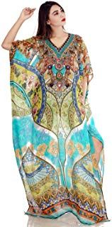 433b783c84 Amazon Fashion | Clothing, Shoes & Jewelry | Amazon.com. Resort WearKaftanCover  UpCaftansKaftans. Beautiful Womans one Piece Jewelled Full Length ...