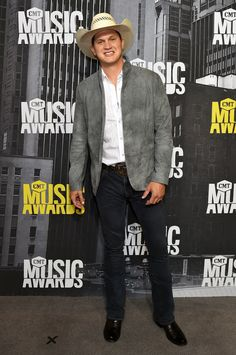 Jon Pardi attends the 2017 CMT Music Awards at the Music City Center on June 7 2017 in Nashville Tennessee. (Photo by Mike Coppola/WireImage) Country Music Quotes, Country Music Artists, Country Singers, Brad Paisley Quotes, Jon Pardi, Celebrity Boots, Cmt Music Awards, Nashville Tennessee, Country Boys