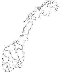 Norgeskart med fylker. Norske eventyr og sagn Beautiful Norway, Nasa, Diy And Crafts, Teaching, Education, Montessori, Cards, Bullet Journal, Collage