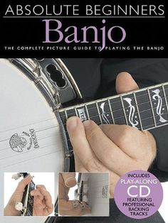 Absolute Beginners Banjo Bjo Book/Cd