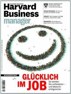 Harvard Business Manager Glücklich im Job Marketing, Harvard, Management, Business, Store, Business Illustration