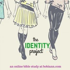 Do you struggle with insecurity in who you are?  I know I do.  I question where I fit, what people want from me and how to rest in who God says I am.  Join me in this 8-week project as we discover and embrace our true identity in Christ.