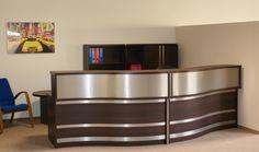 l-box reception desk