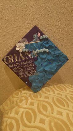 Graduation Cap OHANA Stitch
