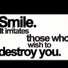 Smile big!