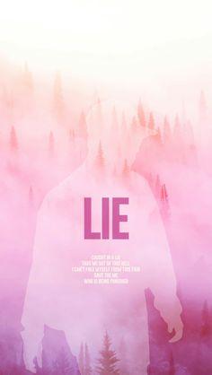 Bts Jimin Lie wallpaper