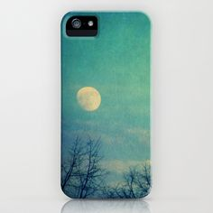Ice Moon iPhone Case by Claudia Drossert - $35.00