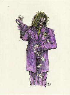 Joker by samurai30 on deviantART
