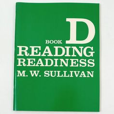 Sullivan Reading Book D Vtg 1986 New Edition Softcover Carroll Publishing 3504 #Textbook