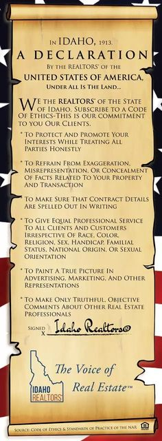 I have the deepest respect for this Oath.   #trust #karlaluckow #homebuyer #realestate