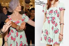 Perrie met fans with her bandmates at the Mixers Magnets event in San Francisco last Saturday wearing a Pins And Needles Floral Cross-Back Dress ($59.00) from Urban Outfitters.