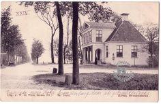 Hotel Spannenburg in vroegere tijden.