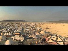 """Filmmaker Eddie Codel used a DJI Phantom drone and a GoPro Hero3 camera to shoot this """"Drone's eye view of Burning Man 2013″—the aerial footage provides a good sense of the sprawling scale of the festival. We recently wrote about Codel's drone's-eye view of San Francisco's Mission District."""