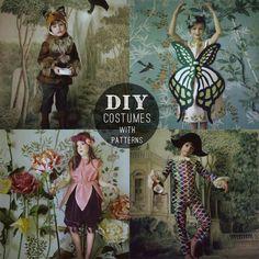 petit à petit and family: DIY: 4 Elegant Costumes