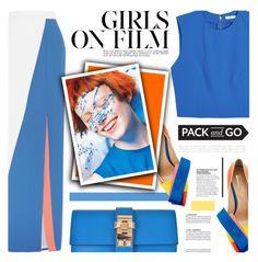 """Pack and Go: Rio"" by defivirda ❤ liked on Polyvore featuring Roksanda, Nicholas Kirkwood, Alice + Olivia, Hermès, rio and Packandgo"