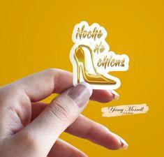 Noche de chicas pegatinas metálicas para planificador-Diarios   Etsy Erin Condren, Planner Stickers, Planners, Metal, Accessories, Design, Ladies Night, Be Creative, Scrapbooking