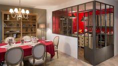 Verriere cuisine Loft, Grande Douche, Recherche Google, Open Plan Kitchen, Home Staging, Decoration, Separate, My Dream Home, Home Living Room