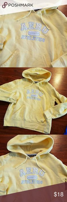 Aeropostale hoodie with pockets so soft size M Great condition Aeropostale Tops Sweatshirts & Hoodies
