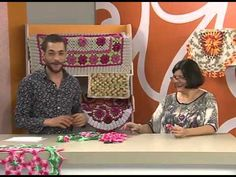 Centro de mesa rosas com Marta Araújo   Vitrine do Artesanato na Tv