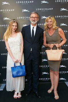 Vienna Flagship Opening - Zoe Straub, Jean Cassegrain and Roumina Straub