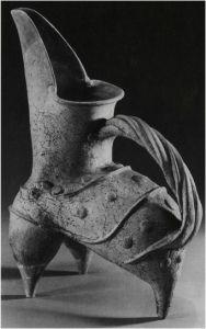 *Kui Pitcher *Grayish-white Pottery  *Longshan Culture *30000-2000 BCE