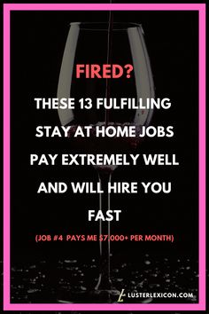 Laid off? Here's 13 fulfilling stay at home jobs that pay extremely well and will hire you fast. Source by lusterlexicon Work From Home Companies, Online Jobs From Home, Work From Home Opportunities, Online Work, Uk Online, Ways To Earn Money, Earn Money From Home, Way To Make Money, Stay At Home