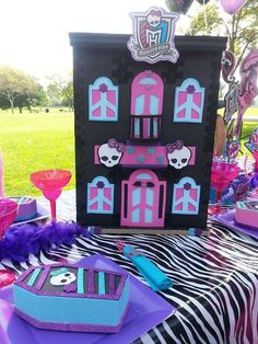 Monster High Birthday Party Ideas   Photo 1 of 25   Catch My Party