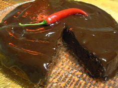 Chili-suklaakakku