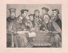 Acht Reformatoren (Bock, Hieronymus, Buchenhagen, Johann, Calvin, Johann, Hus, Johannes, Luther, Martin, Mela… Hagen, Johannes, Luther, Painting, Ghosts, Paintings, Draw, Drawings