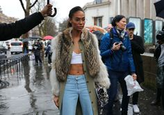 The Best Street Style Beauty From Phil Oh's Paris Fashion Week Fall 2017 Coverage