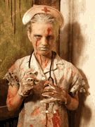 nurse at the haunthouse