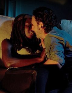 The Walking Dead Season 6 Episode 10 'The Next World' Richonne