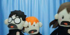 Potter Puppets - freak out - Harry Potter Harry Potter Puppets, Potter Puppet Pals, Harry Potter Universal, Harry Potter Fandom, Harry Potter Memes, Fantastic Beasts, Hogwarts, Just In Case, Geek Stuff