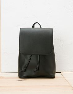 Minimal backpack. Discover this and many more items in Bershka with new products every week