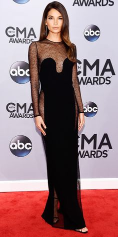 The Best Looks From the 2014 CMA Awards - Lily Aldridge from #InStyle