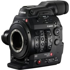 Canon EOS C300 Mark II 4K EF Mount Video Camera with Dual DIGIC DV5 Processors a 35mm CMOS Sensor and 15-Stops of Dynamic Range at High Bitrates to Internal CFast 2.0 Cards (Body Only)