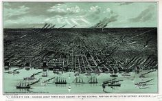 Detroit, 1889