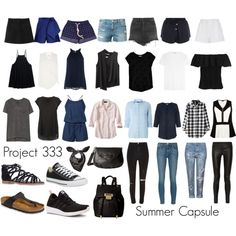 Project 333: Summer Capsule