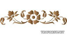 Blomstermotiv 22 • mönster till konstverk • handla online på Internet