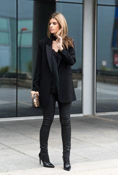Ms Treinta - Fashion blogger - Blog de moda y tendencias by Alba.: Total Black