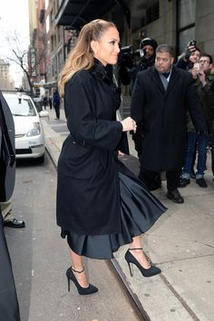 ARRIVING TO WENDY WILLIAMS SHOW-JAN 20 2015