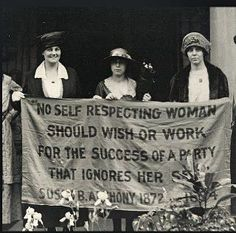 YES!  Still relevant after all these years...Thank you Susan B. Anthony!