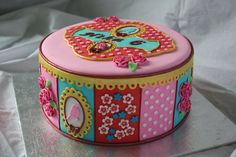 Pip studio style birthday cake - by Tamataartje @ CakesDecor.com - cake decorating website