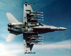 F-18...loaded!
