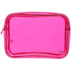 Stephanie Johnson Miami Jumbo Zip Cosmetic Case - Neon Pink - Toiletry... ($30) ❤ liked on Polyvore featuring beauty products, beauty accessories, bags & cases, bags, filler, pink, makeup bag case, toiletry kits, toiletry bag and stephanie johnson