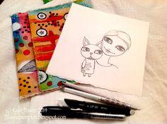 Work in progress - by Kylie Fowler  Aka: Blissful Pumpkin