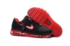 Nike Air Max 2017 Red Black Sports Shoes